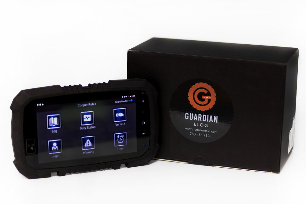 guardian elogDiesel Tech Industries Guardian ELOG Tablet Canadian Mandate