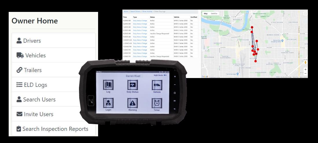 Guardian ELD GPS Feature
