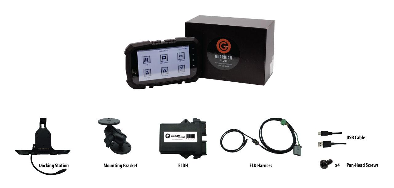 ELD Kit - Guardian ELOG Kit